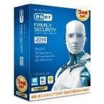 【アウトレット】キヤノンITソリューションズ セキュリティソフト ESET ファミリー セキュリティ 2014 3年版