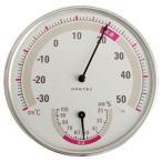 ドリテック 温湿度計WT O-310WT ホワイト