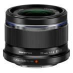 オリンパス 交換用レンズ マイクロフォーサーズ M.ZUIKO DIGITAL 25mm F1.8 ブラック