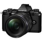 オリンパス 小型一眼カメラ 1本レンズキット(標準ズーム) E-M5 Mark2 12-40mm F2.8 レンズキット(ブラック) ブラック