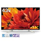 SONY BRAVIA 4K Wチューナー内蔵 高画質4Kテレビ X8500G KJ-43X8500G