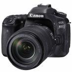 キヤノン 一眼レフカメラ 1本レンズキット(高倍率ズーム) EOS(イオス) EOS80D-18135ISUSMLK