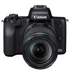 ショッピングEOS キヤノン 小型一眼カメラ 1本レンズキット(高倍率ズーム) 4K EOS KISS M 18-150ISSTMレンズキット(BK) ブラック