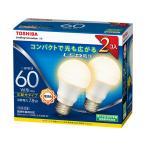 東芝 LED電球 LDA8L-G-K / 60W-2P 電球色 一般電球60W形相当