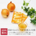 たまねぎスープ 12食×2袋 メール便  国産 乾物 保存食 玉ねぎ タマネギ インスタント オニオン