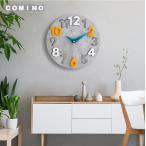 壁掛け時計 掛け時計 おしゃれ ウォールクロック クロック インテリア 木製 時計 壁掛け モダン 北欧 新築祝い 透かし ギフト 電池 静音 30/40cm 5color