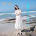 夏 ノースリーブ 白いワンピース レディース ファッション ロング ドレス きれいめ 涼しい リゾート 可愛い 韓国スタイル 結婚式 パーティー 旅行
