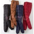 アウトドア パンツ レディース メンズ ダウンパンツ 暖かい ボトムス 冬 30代 40代 50代 60代 70代 ファッション