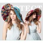 帽子 レディース サーフハット UVカット つば広 折りたたみ 女優帽 日焼け防止 ハット 小顔効果 リボン ビーチハット 飛ばない かわいい 旅行 ビーチ 海