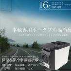 車載 冷蔵庫 保温庫 6L 軽量1.8k 保冷温庫 小型 ポータブル シガー電源 12V ミニ冷蔵庫 保温庫 保冷ボックス 保温ボックス  _45322