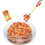 イベントグッズマジックハンドでキャッチ ハッピーターン 約100人用 お菓子 せんべい