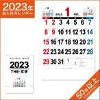 カレンダー 2021 令和3年 名入れ 壁掛け 暦 A2 THE・文字 NK-163