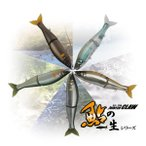 JOINTED CLAW 178 Floating 鮎の一生シリーズ(ジョインテッドクロー178 フローティング) / GAN CRAFT(ガンクラフト)