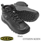 Men's CITIZEN KEEN LIMITED WP (メンズ シティズン キーン リミテッド WP) - Black - 【1015140】/  KEEN(キーン)
