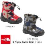 K Nuptse Bootie Wool II Luxe ヌプシ ブーティー ウール II ラックス(キッズ) 17-22 NFJ51684 / THE NORTH FACE(ザ・ノースフェイス)