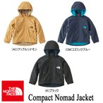 Compact Nomad Jacket コンパクトノマドジャケット(キッズ) 110-150 NPJ71756 / THE NORTH FACE(ザ・ノースフェイス)