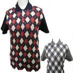 Yahoo Shopping - アーガイル半袖ポロシャツ
