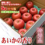 あいかの香り 長野りんご 5kg 11-12玉 大玉 特秀 お歳暮 ギフト
