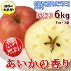 あいかの香り 訳あり リンゴ 送料無料 長野県産 6kg 家庭用