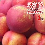 秀峰 3kg 甘酸の調和良く果汁多いため食味は濃厚なネクタリン