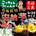早割 安納芋 有機 プチ安納芋 安納いも あんのう芋 蜜芋 離乳食 五島列島 オーガニック S/2Sサイズ 5kg