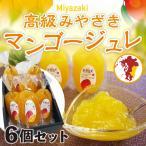 お中元 ギフト 完熟 マンゴージュレ 高級 宮崎 6個入り プレゼント 贈答用 ご自宅用 mango Y常