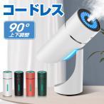 超音波加湿器 小型 超静音 空焚き防止 除菌