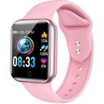 多機能スマートウォッチ ブレスレット iphone Line  日本語 対応 腕時計 レディース  メンズ 心拍計 歩数計 防水 GPS カラースクリーン 着信通知 (NY07)
