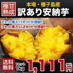 2セットで1セット分おまけ増量 送料無料 安納芋の本場種子島産 訳あり安納芋1kg サイズ不選別 複数の場合おまとめ配送 12月上旬-12月下旬頃より順次出荷