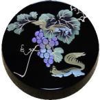 仏具 香合(切立) 香道具 日本製 葡萄にりす2.6寸