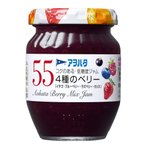 アヲハタ 55 4種のベリージャム(イチゴ/ブルーベリー/ラズベリー/カシス) 150g 24個(12個×2箱)