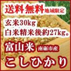 こしひかり玄米30kgを白米に精米して出荷(白米精米後約27kg)
