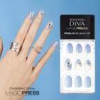 ダッシングディバ マジックプレス DASHING DIVA MagicPress MJP_007-DURY  オリジナルジェル ネイルチップ