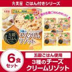 丸美屋食品 五穀ごはん チーズリゾット×6食 レトルト食品 まとめ買い インスタント食品