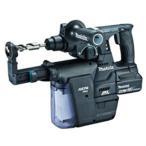 【マキタ】 充電式ハンマドリル(SDSプラスシャンク) 24mm HR244DGXVB(黒) 18V 6.0Ah