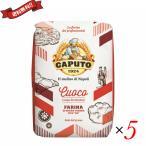 ピザ 小麦粉 ピザ粉 カプート サッコロッソ クオーコ1kg 5袋セット 送料無料! 送料無料
