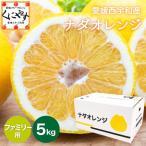 「ファミリーナダオレンジ5」 送料無料5kg×1箱,皮むき簡単食べ易い冷やして食べるとひんやりジューシー(河内晩柑,かわちばんかん)