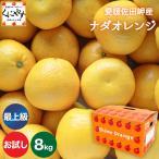 「お試し最上ナダオレ2×4」河内晩柑の概念を変える味 送料無料 お試し品最上級ナダオレンジ2kg×4箱(別名:宇和ゴールド