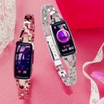 スマートブレスレット 2019最新ファッションレディース 5カラー 多機能 スポーツウォッチ 日本語対応 腕時計  iPhone Androi対応 防水 アプリ連動 説明書あり