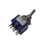 トグルスイッチ Mサイズ AC 6A 125V 6P(中点なし)