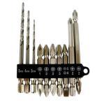 電動ドライバー ドリル用(E-VALUE)下穴ドリル&ビットセット bs-610pcs