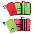 ショッピング母子手帳 送料無料 Hanna Hula(ハンナフラ) りんご 母子手帳ケース(マルチケース) Mサイズ CPBO グリーン・09-M
