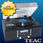 TEAC ターンテーブル カセットプレーヤー付CDレコーダー LP-R550USB-B