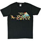 鳥獣マラソン半袖Tシャツ(富士山)