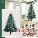 最終値下げ クリスマスツリー クリスマス ツリー タペストリー もみの木 壁掛け 100×150 北欧