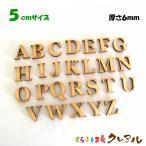 ショッピング木製 5センチ 木製アルファベット大文字 カラー5色 文字3タイプ