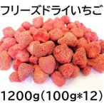フリーズドライ いちご 200g 九州工場加工品 100gX2袋 FREEZE DRIED STRAWBERRY ドライイチゴ 黒田屋