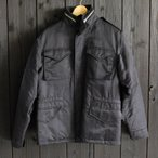 SKULL FLIGHT M-65 フィールドジャケット(ブラック)