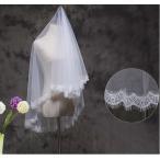 ウェディングマリアベール 安い 1.6m 刺繍ベール 結婚式  披露宴 教会挙式