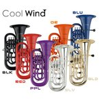 Cool Wind EU-200 BLK ブラック (プラスチック製ユーフォニアム)(送料無料)(ご予約受付中)